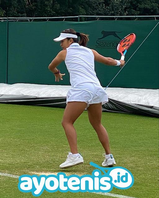 Gilas Lucie Havlickova, Priska Madelyn Nugroho Melenggang ke Putaran 2 Wimbledon Yunior