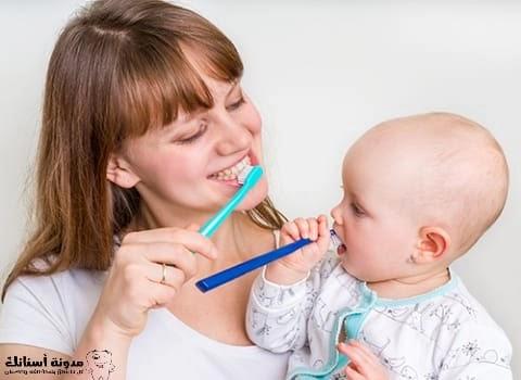 تخفيف ألم تسوس الأسنان عند الأطفال.