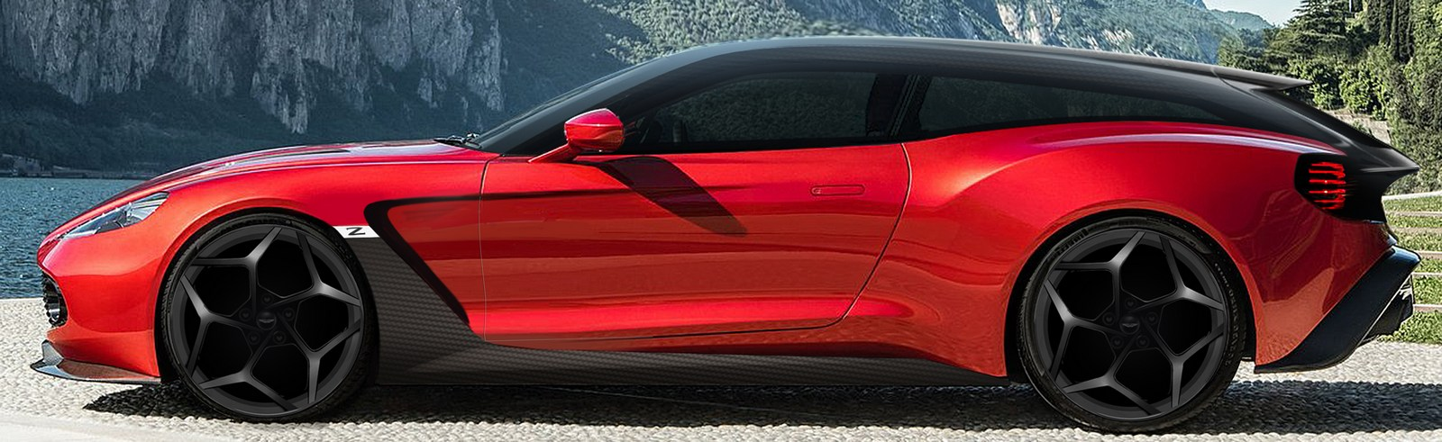 Ini Wujud Aston Martin Vanquish Zagato Speedster Shooting Brake