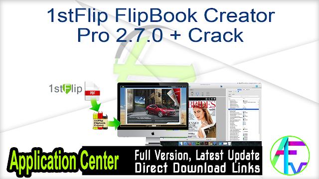 1stFlip FlipBook Creator Pro 2.7.0 + Crack