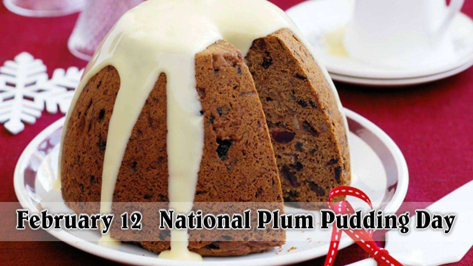 National Plum Pudding Day Wishes Photos