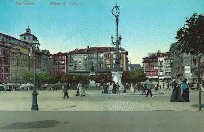 Santander. Plaza de Velarde