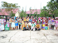 Parade Fashion Show Sampah SMA Negeri 1 Bontang