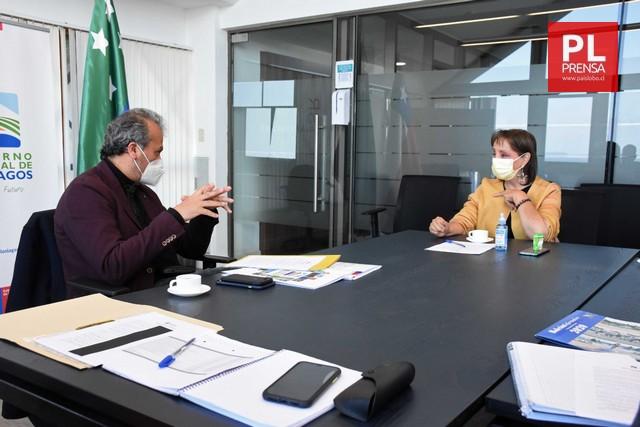 Gobernador Vallespin y Alcaldesa Núñez