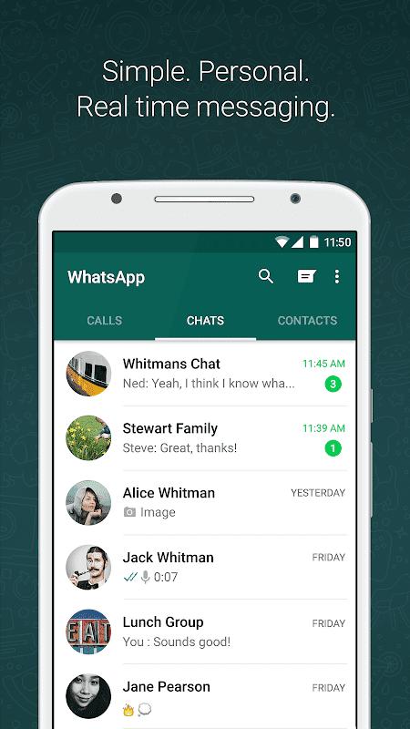 تحميل whatsapp مهكر نسخة معدلة اخر اصدار للاندرويد