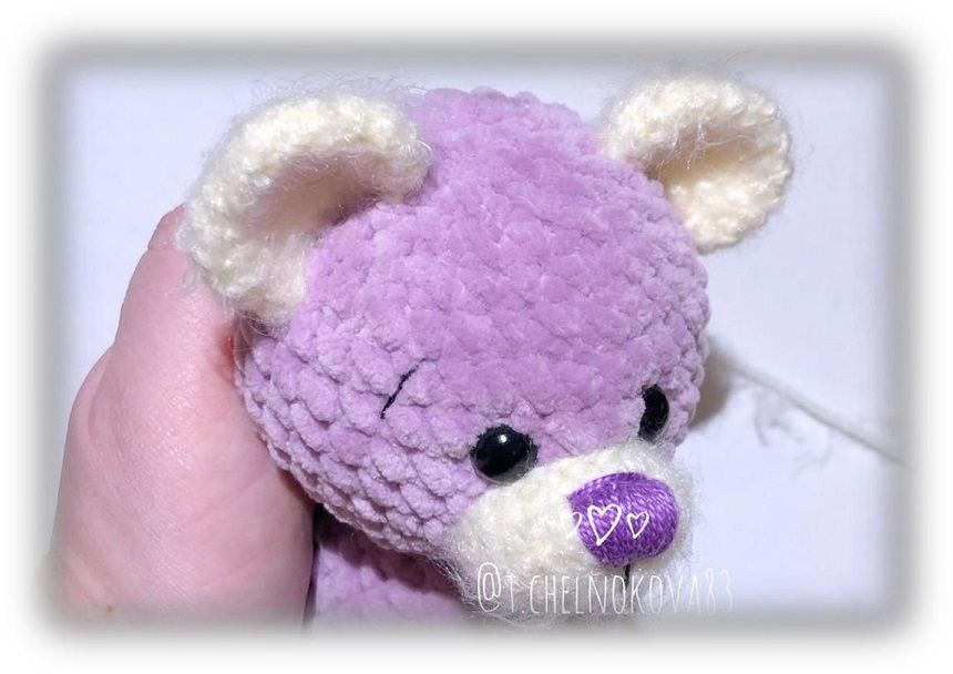 Amigurumi bear tutorial