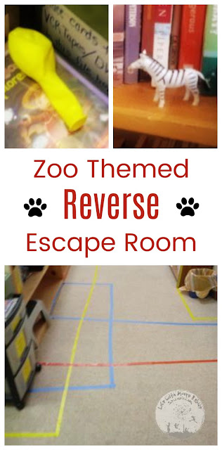 Practice Problem Solving with a Zoo Escape Room