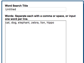 Here Is A Very Good Tool to Create Word Search Games for Your Class