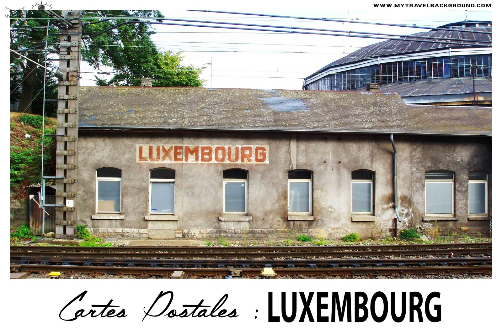 My Travel Background : Cartes Postale Luxembourg