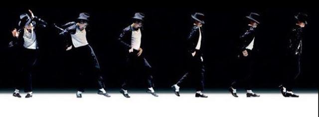 Michael Jackson, paso de baile moonwalk