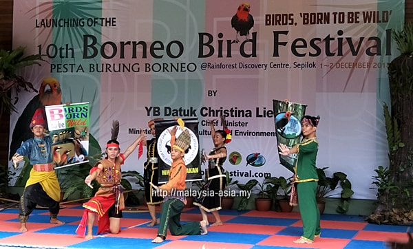 Launch of Borneo Bird Festival