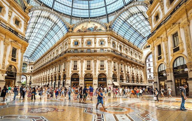 Galeria Vittorio Emanuele II em Milão