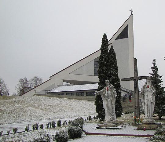 Kościół św. Mikołaja Biskupa w Skrzydlnej z XX wieku (obecnie pod wezwaniem św. Anny)