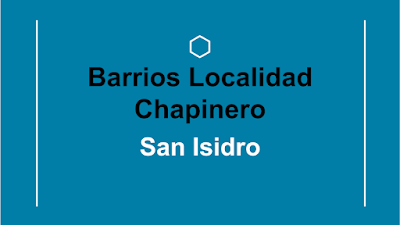 barrio san isidro