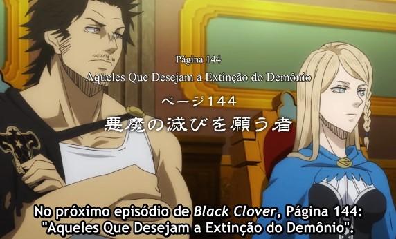 Black Clover – Episódio 144