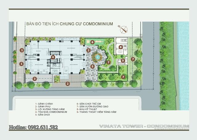 Quy mô dự án Vinata Tower