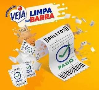Cadastrar Promoção Veja Limpa Sua Barra 2020 Contas Pagas e Prêmios na Hora