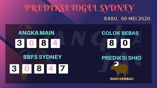 Prediksi Togel Sydney 06 Mei 2020 - Prediksi Angka Sydney