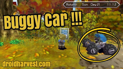 Harvest Moon: Innocent Life - How to Get a Buggy Car