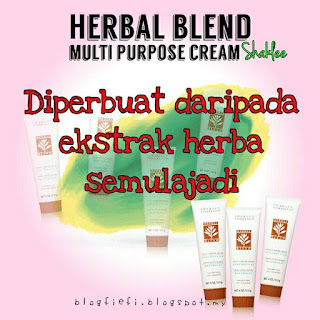 Herbal Blend Multipurpose Cream Shaklee Dan Kegunaannya.