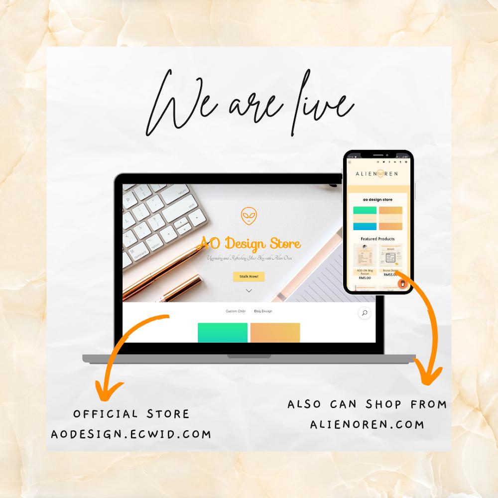 Soft-Launching AO Design Service!