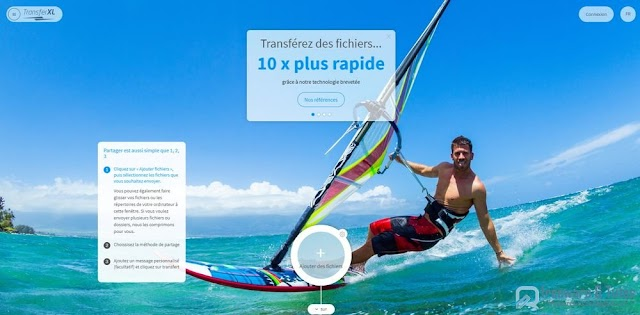 TransferXL : une alternative à WeTransfer