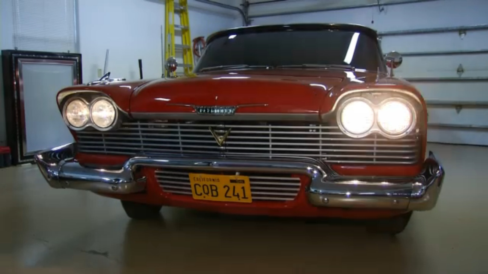 Christine Movie Car: Talk Stephen King: The Real CHRISTINE Is A Lot Of Trouble