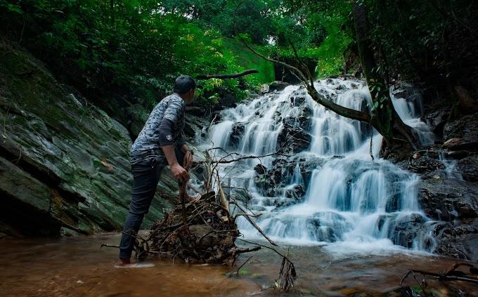 The Waterfall exploration and various hues of Thirthahalli