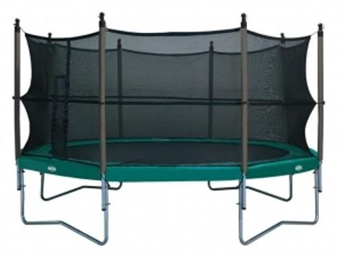 Tilbud trampoline med nett – Vifte til vedovn