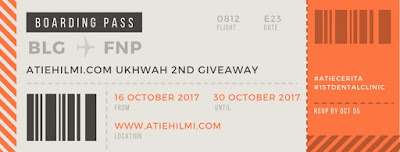 2nd GIVEAWAY ATIEHILMI.COM ft. 1ST DENTAL CLINIC, Blogger, Senarai Peserya, Pemenang, Blog, Blog Miss Banu Story,