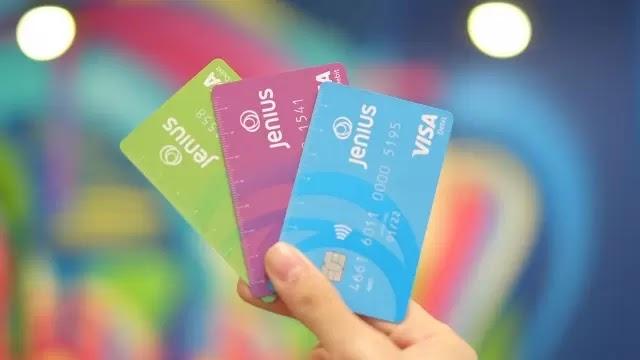visa jenius adalah kartu debit/kredit yang dimiliki oleh btpn