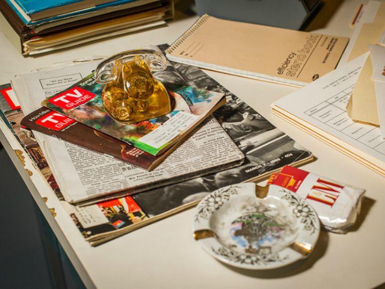A Vintage Nerd, MOMI MadMen Exhibit, Vintage Blog, Vintage Exhibits