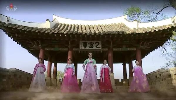 National costume of Korean women
