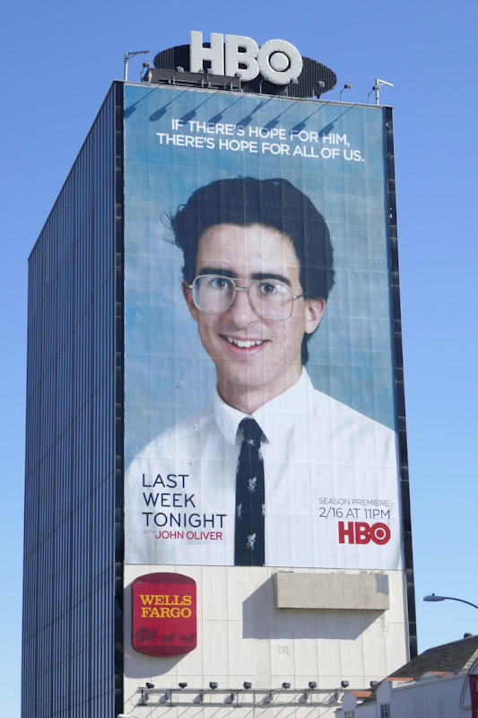 Giant Last Week Tonight John Oliver season 7 billboard