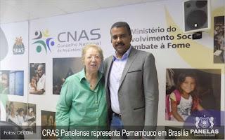 Edvaldo Alves - CRAS do Distrito Cruzes representa Pernambuco em Brasília