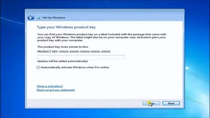 instal ulang windows 7 dengan flashdisk
