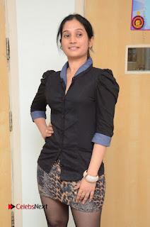 Telugu Actress Priyanka Pallavi Stills in Micro Mini Skirt at Nenosthaa Movie Song Launch at Radio City  0014.JPG