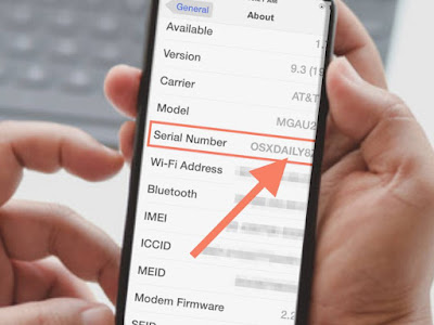 Find iPhone age by serial number