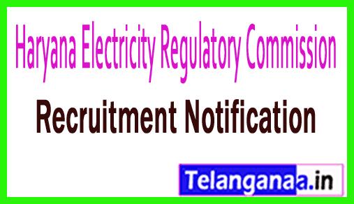 Haryana Electricity Regulatory Commission HERC Recruitment