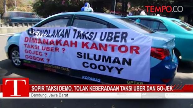 Ssst ! Mau Blokir Uber dan Grab Car Menhub Surati Kominfo, Begini Isinya..