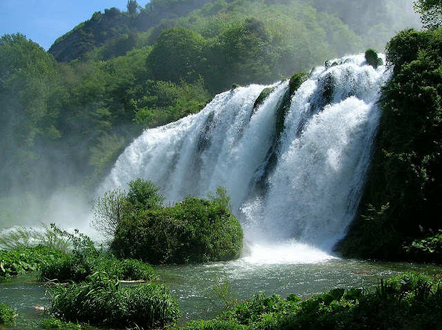 Visitare le cascate dlele marmore
