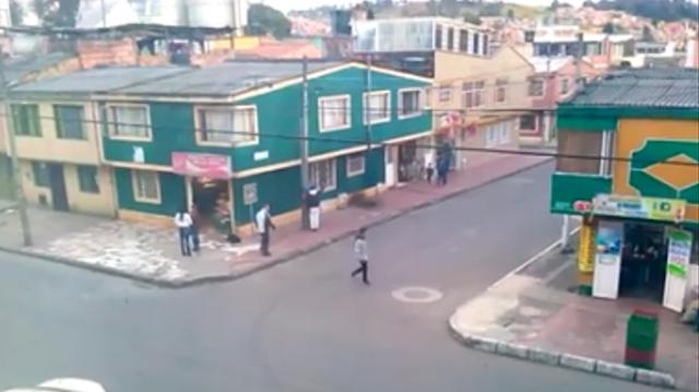 Peaje peatonal en el sur de Facatativá