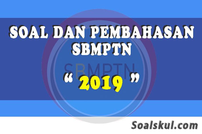 Download Kumpulan Soal Dan Pembahasan Sbmptn 2019 Soalskul