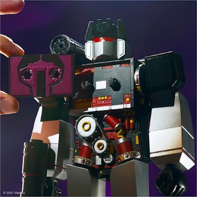 Transformers Super Cyborg Soundwave Soundblaster Edition Action Figure by Super7