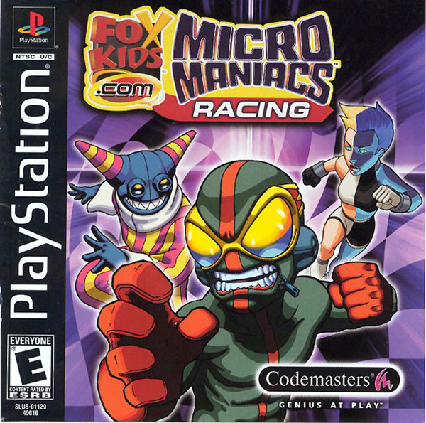Micro Maniacs Racing - PS1 - ISOs Download