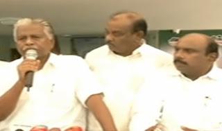 Former Minister K. P. Munusamy on TTV Dinakaran as AIADMK Deputy General Secretary   Thanthi Tv