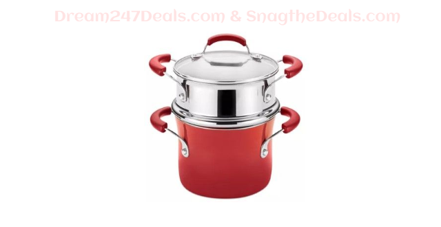 Nonstick 3-Qt. Saucepot and Steamer Set   Limited-Time Special