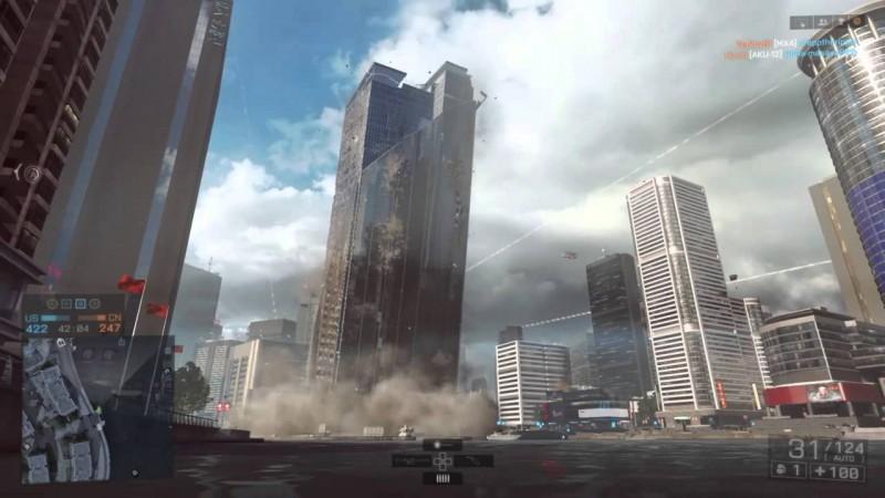 Battlefield 6 will feature unscripted skyscraper destruction
