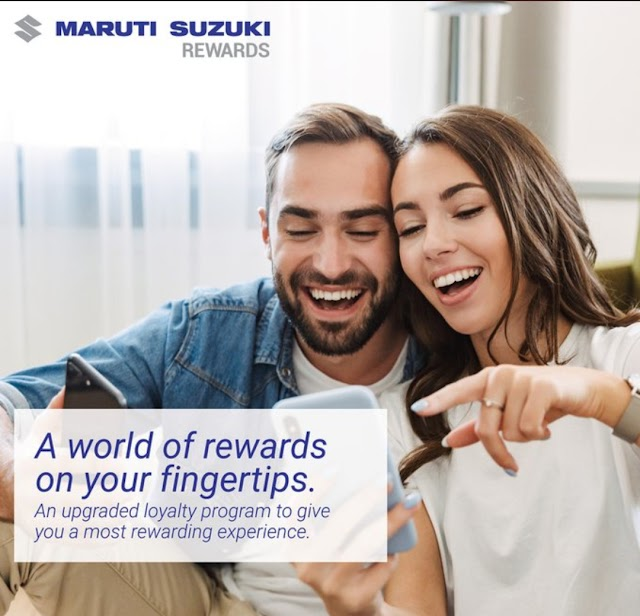Maruti Suzuki launch Loyalty reward program in India.