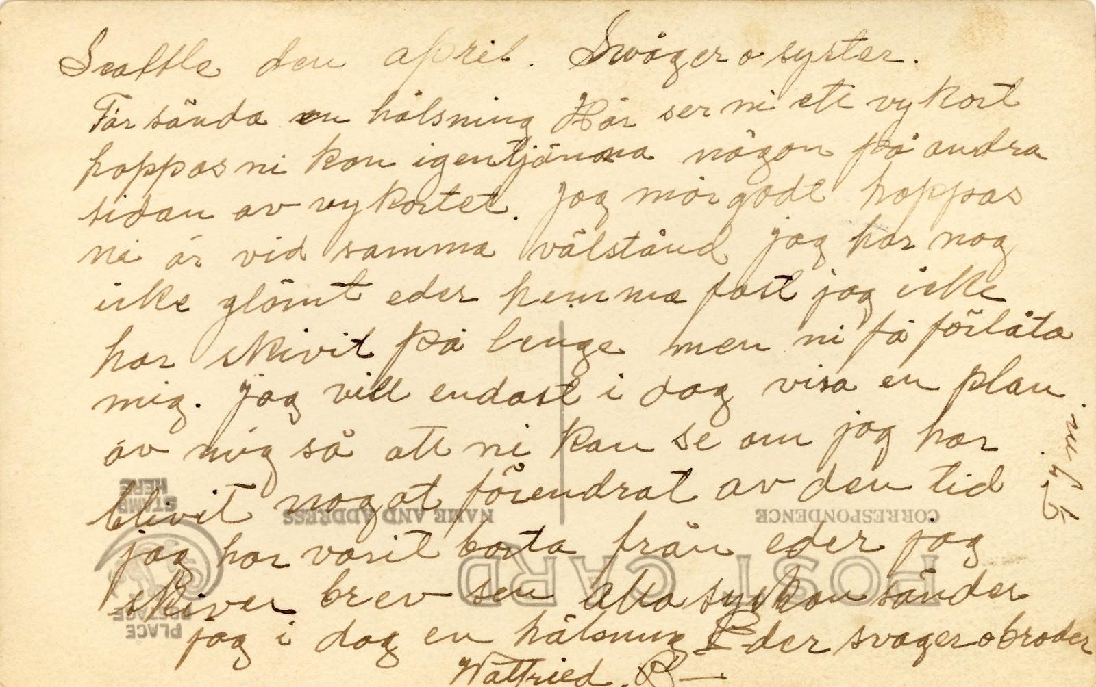 skicka brev till usa från sverige
